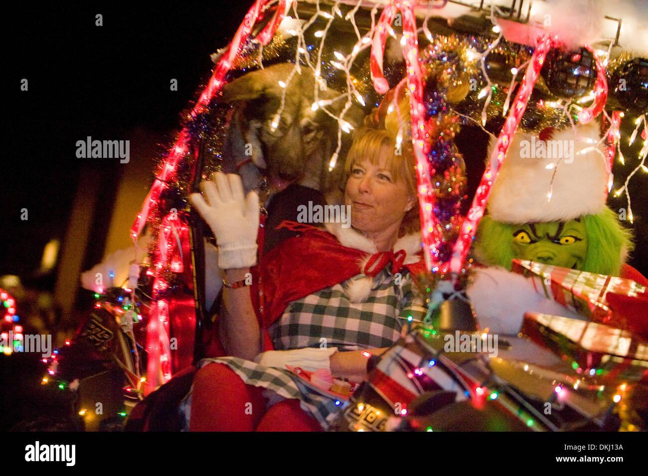 Palo Cedro Christmas Parade 2020 Dec. 05, 2009   Redding, California, USA   Linda and Rick