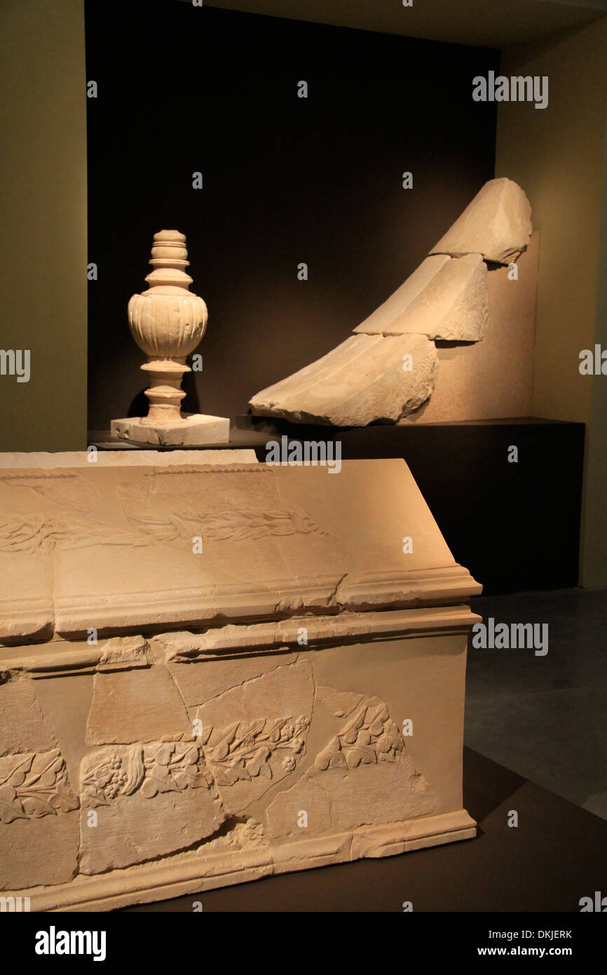 Herod the Great: The King's Final Journey exhibition in the Israel Museum Stock Photo
