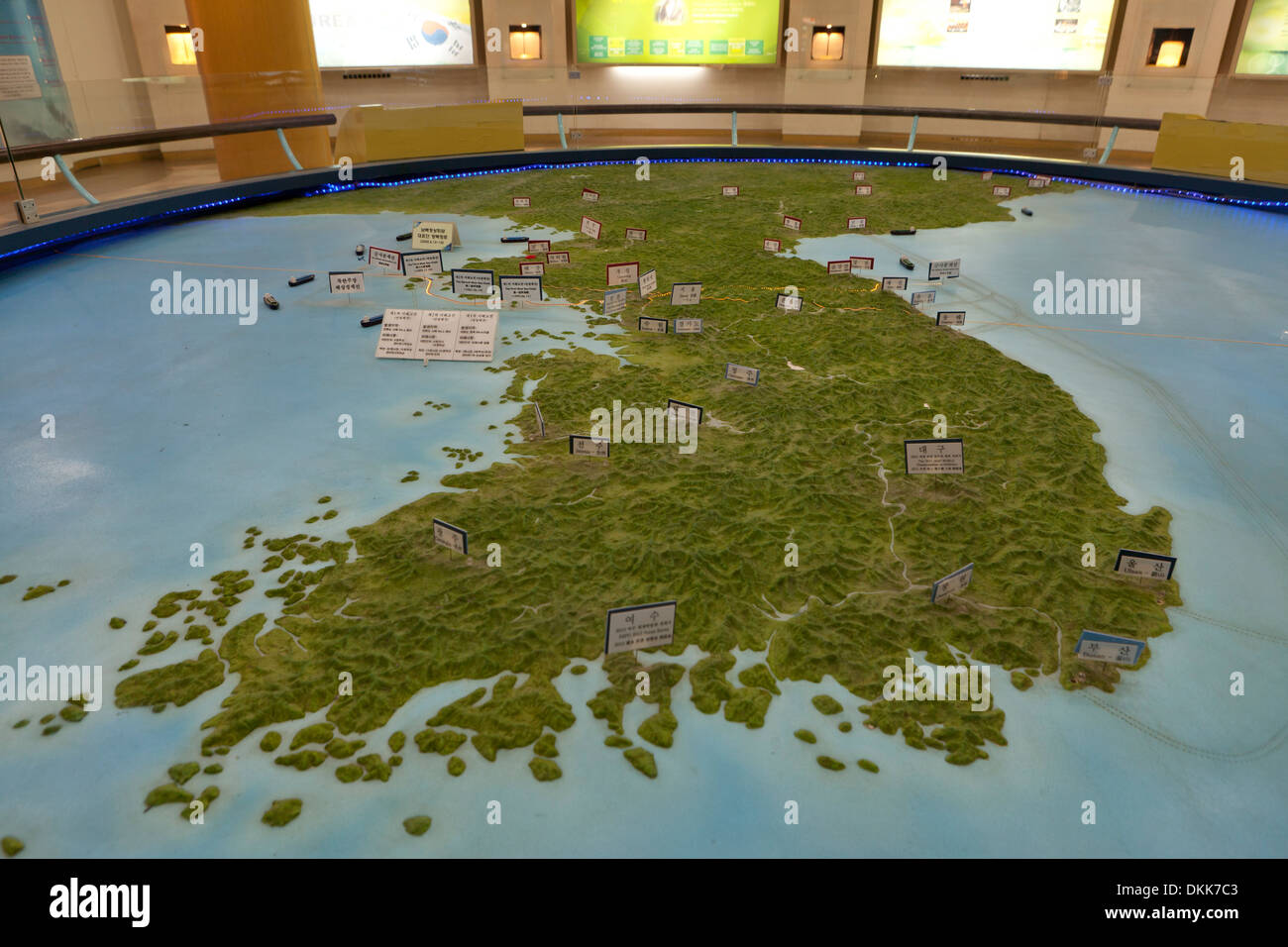 Topographic Map Games.Topographic Map Of The Korean Peninsula Showing Dmz At Unification