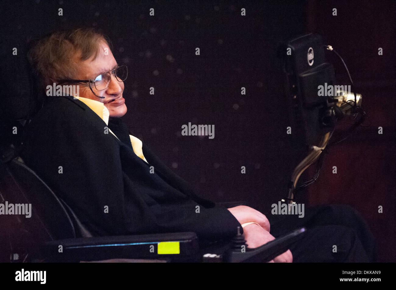 Professor Stephen Hawking Stock Photo