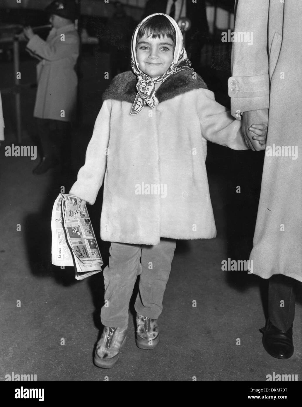 5d6c3ea778e7 17, 1962 - London, England, U.K. - LIZA TODD, daughter of Academy Award  winning actress Elizabeth 'Liz' Taylor, arrived in London to spend the  Christmas ...
