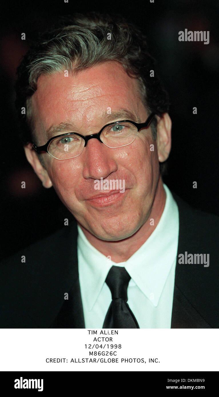 TIM ALLEN.ACTOR.12/04/1998.M86G26C. - Stock Image