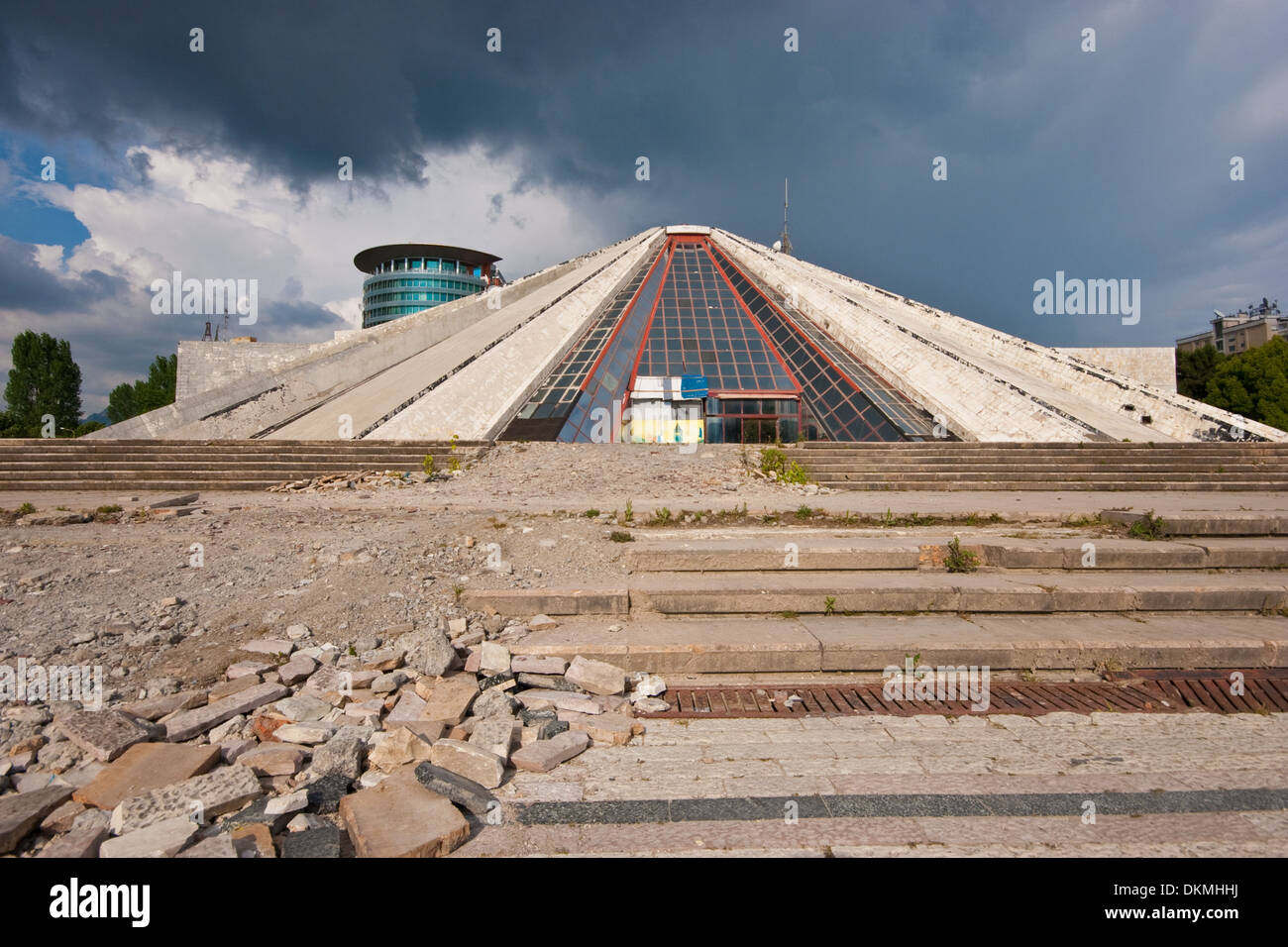 Enver Hoxha Museum, Tirana, Albania - Stock Image