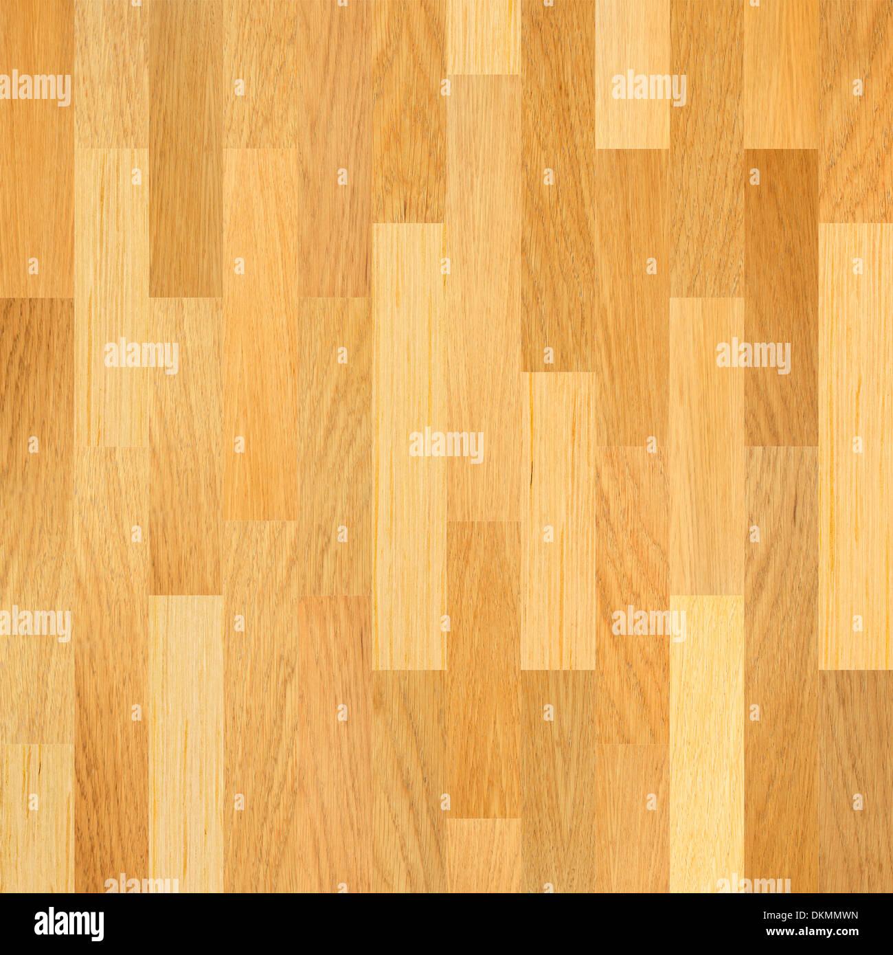 Wooden floor. Parquet flooring background. - Stock Image
