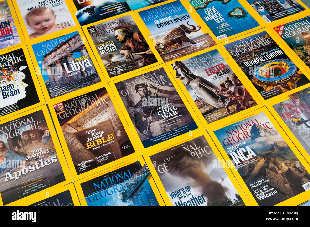 National Geographic Magazine Stock Photos & National Geographic ...