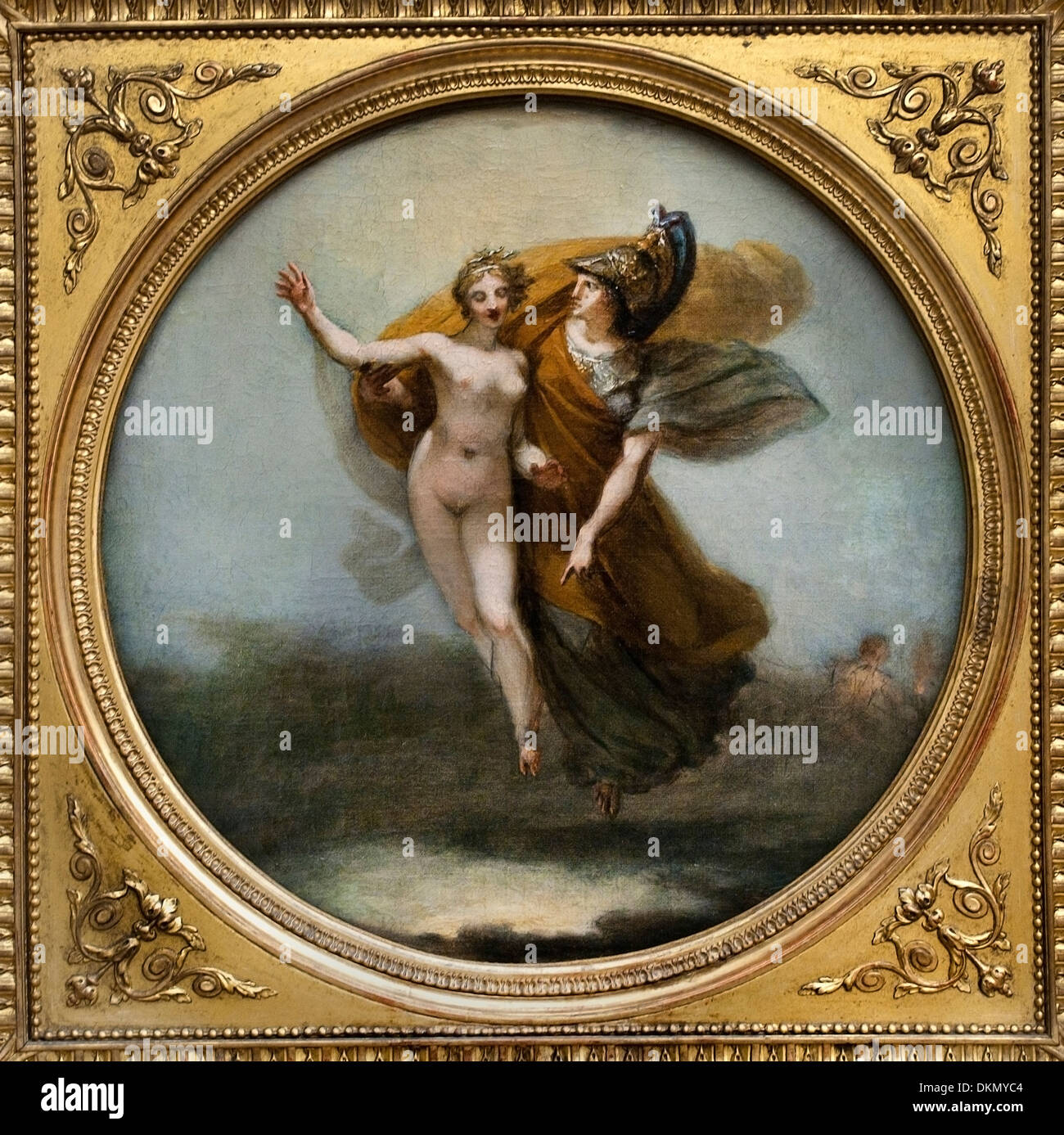 Wisdom and Truth Descending to Earth 1799 by Pierre Paul Prud'don 1758-1821 France French - Stock Image