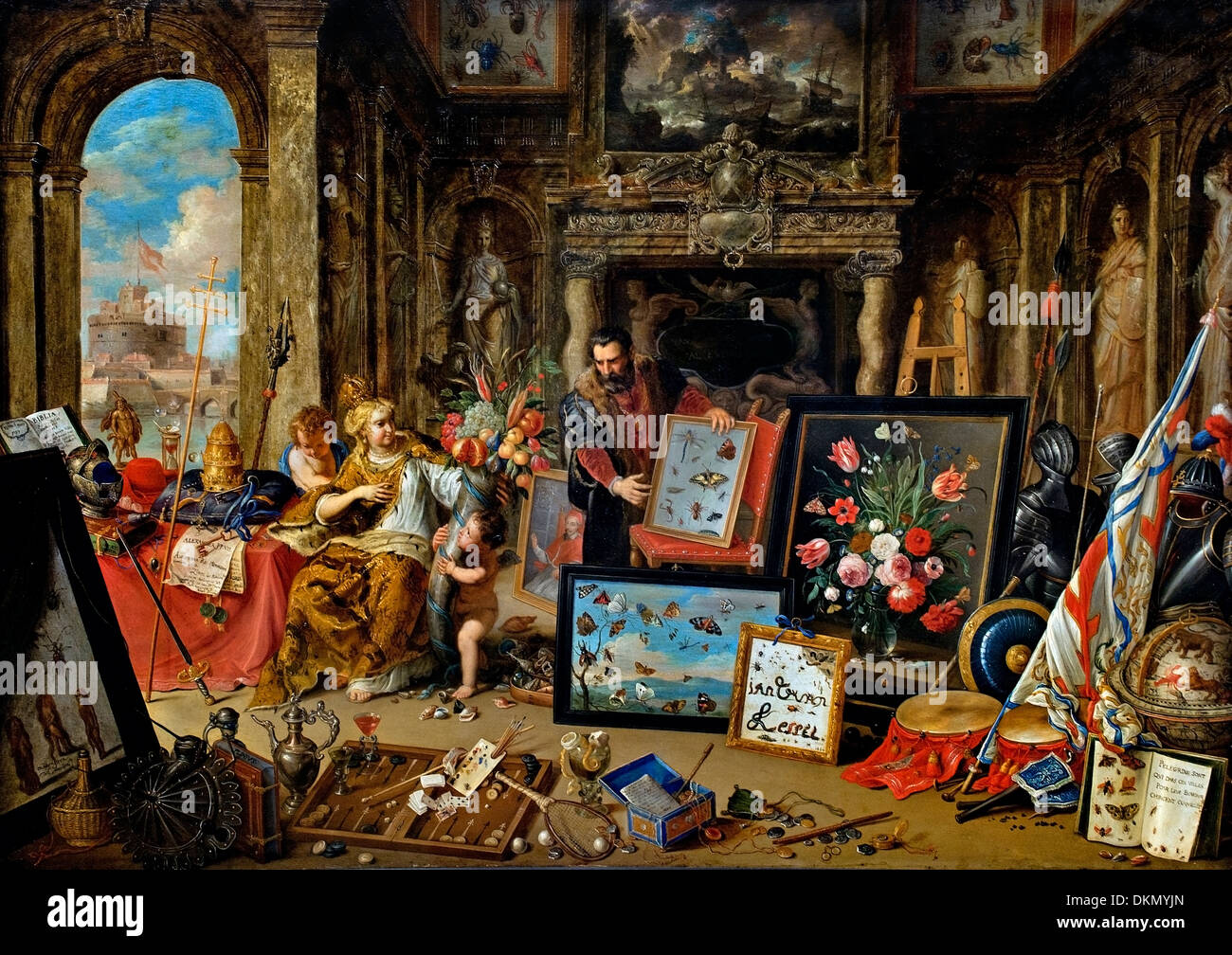 The continent of Europe by Jan van Kessel 1626-1679 Flemish Belgian ...