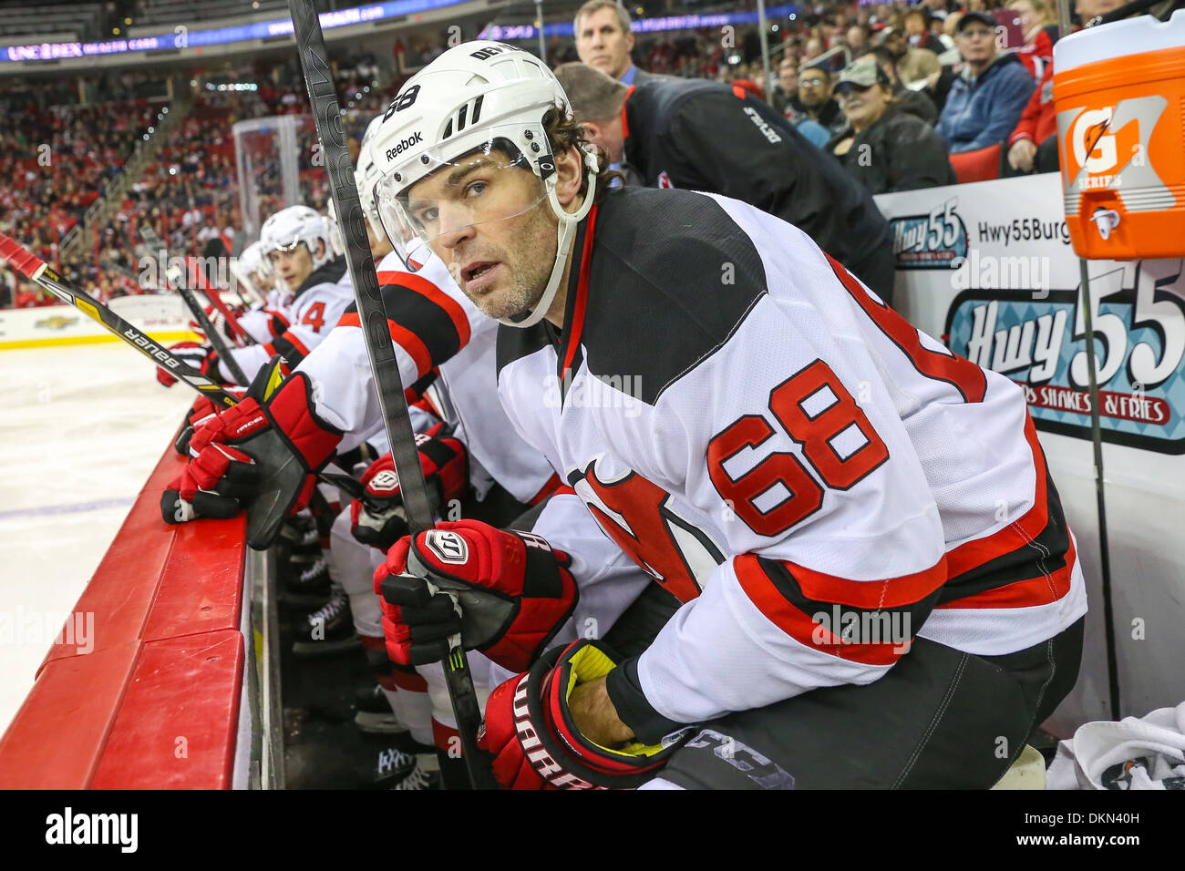 New Jersey Devils right wing Jaromir Jagr (68) during the NHL game between  the b11c7aa84