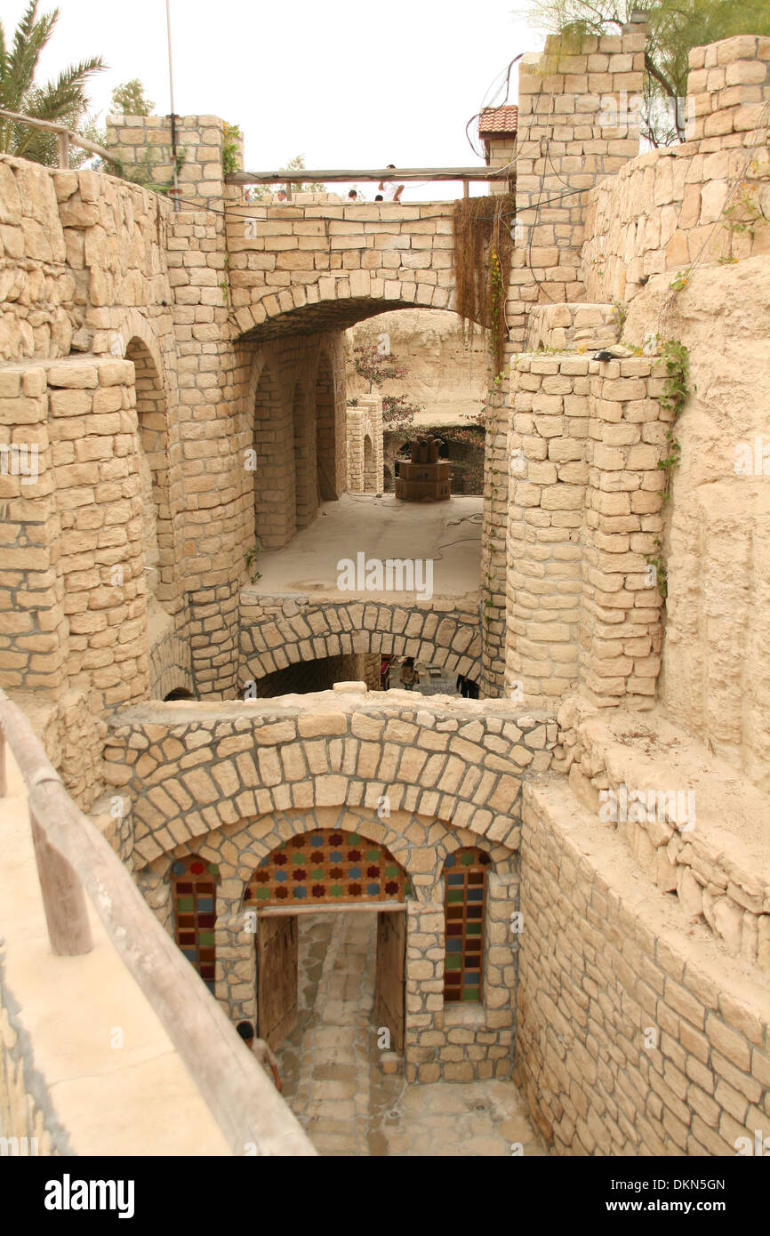 Aqueduct,Underground City,built about 1,000 years ago for transportation and water supply across the different parts of Kish. - Stock Image