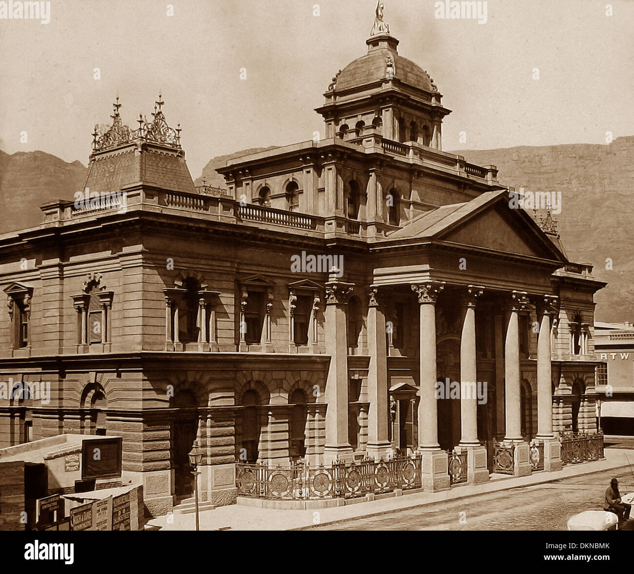 South Africa Cape Town Standard Bank of South Africa pre-1900 - Stock Image