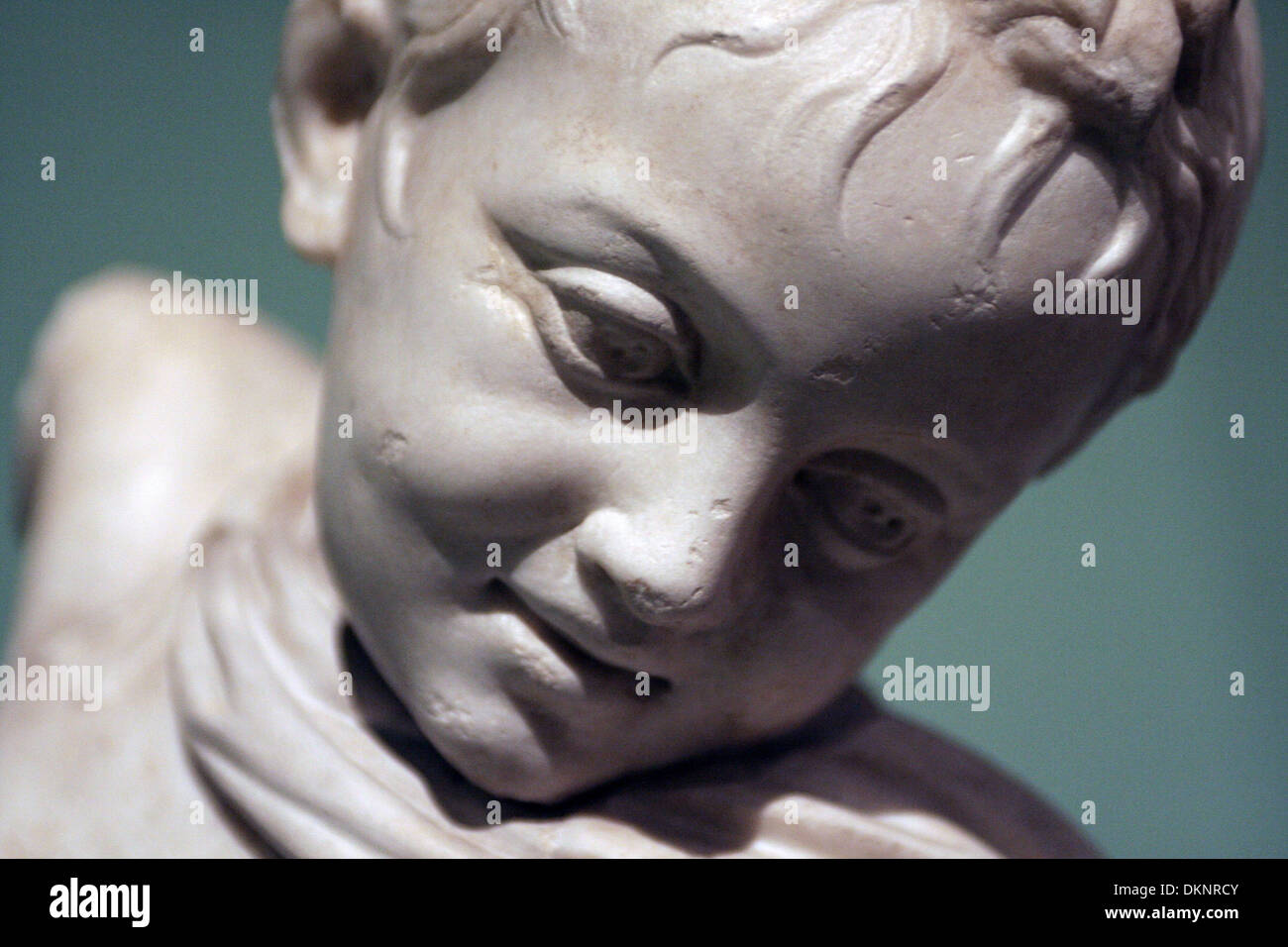 centrale montemartini child particular - Stock Image