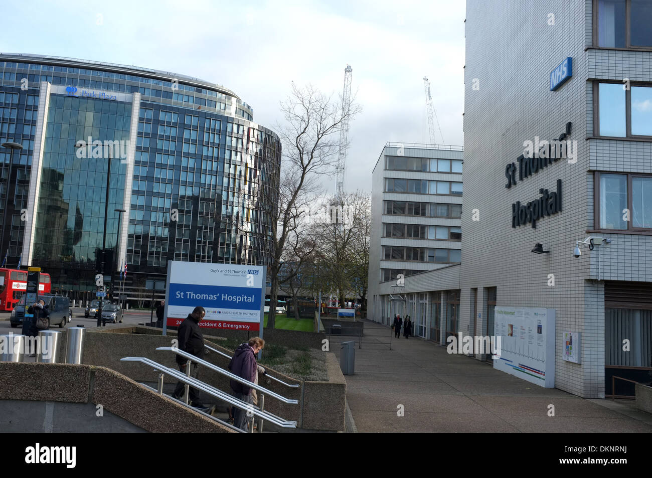 st thomas' nhs teaching hospital lambeth central london uk 2013 - Stock Image