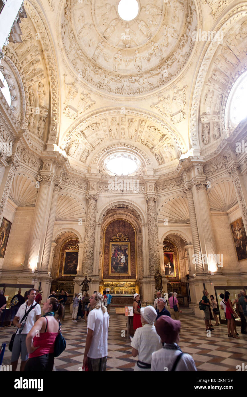 Sacristy of the Cathedral of Seville. Seville, Andalusia, Spain - Stock Image
