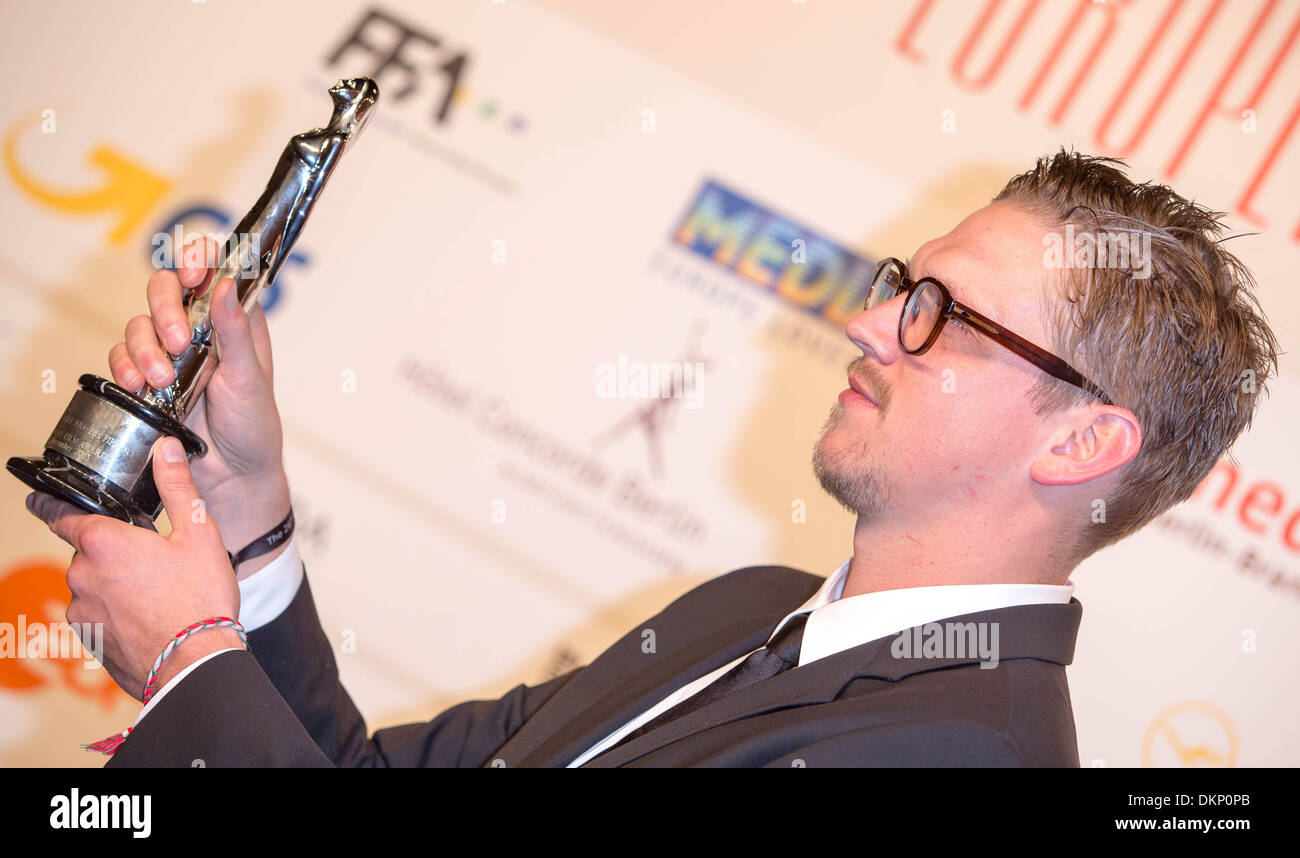 Berlin, Germany. 7th Dec, 2013. JAN OLE GERSTER.26th European Film Awards.Berlin, Germany.December 7, 2013. Credit:  Roger Harvey/Globe Photos/ZUMAPRESS.com/Alamy Live News - Stock Image