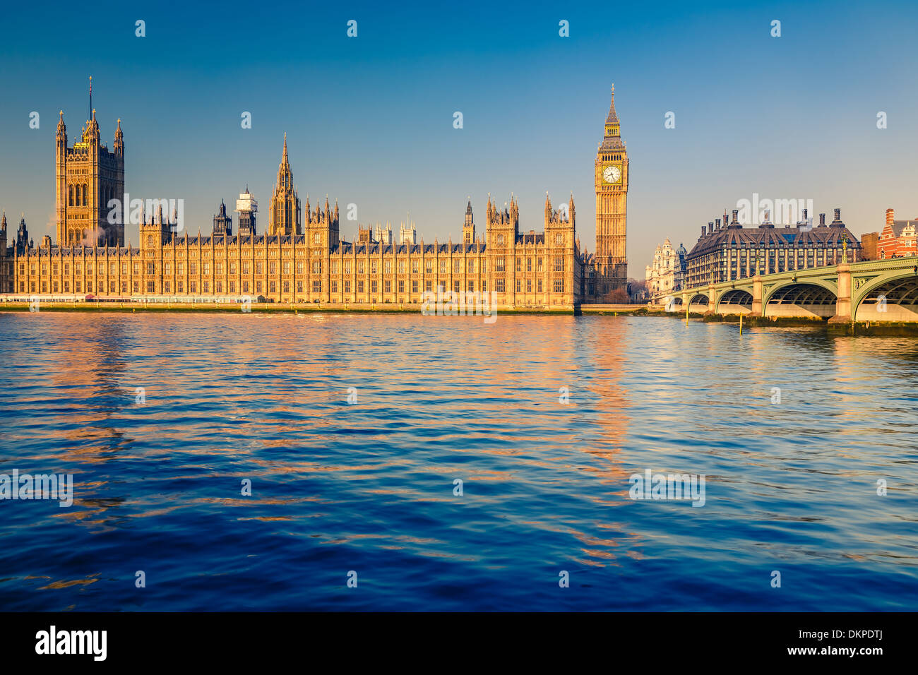 Big Ben in London - Stock Image