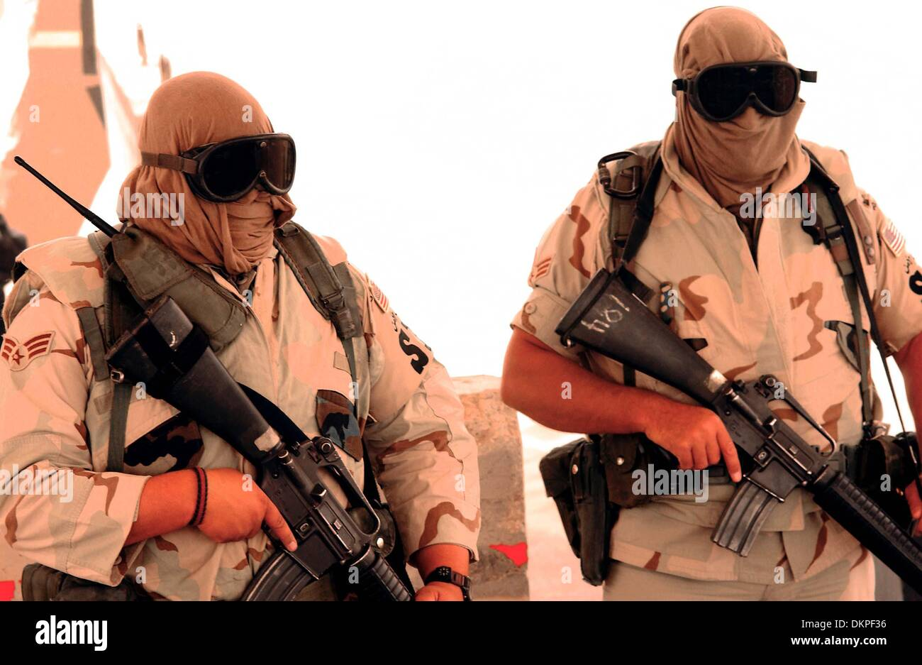 Nov  23, 2002 - Members of the 363rd Expeditionary Security Forces