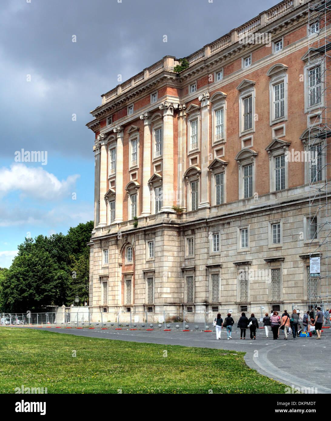 Royal Palace of Caserta, Campania, Italy Stock Photo