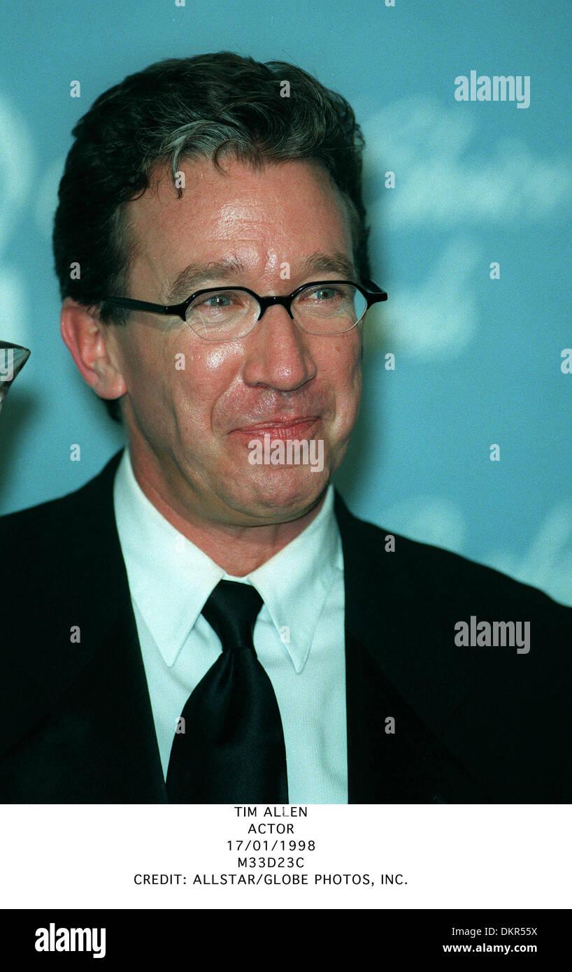 TIM ALLEN.ACTOR.17/01/1998.M33D23C. - Stock Image