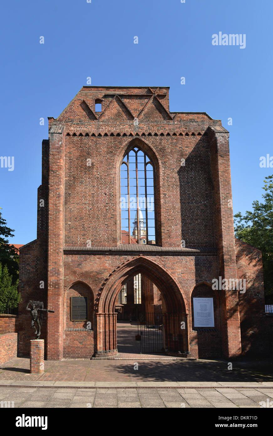 Ruine Klosterkirche, Klosterstrasse, Mitte, Berlin, Deutschland - Stock Image