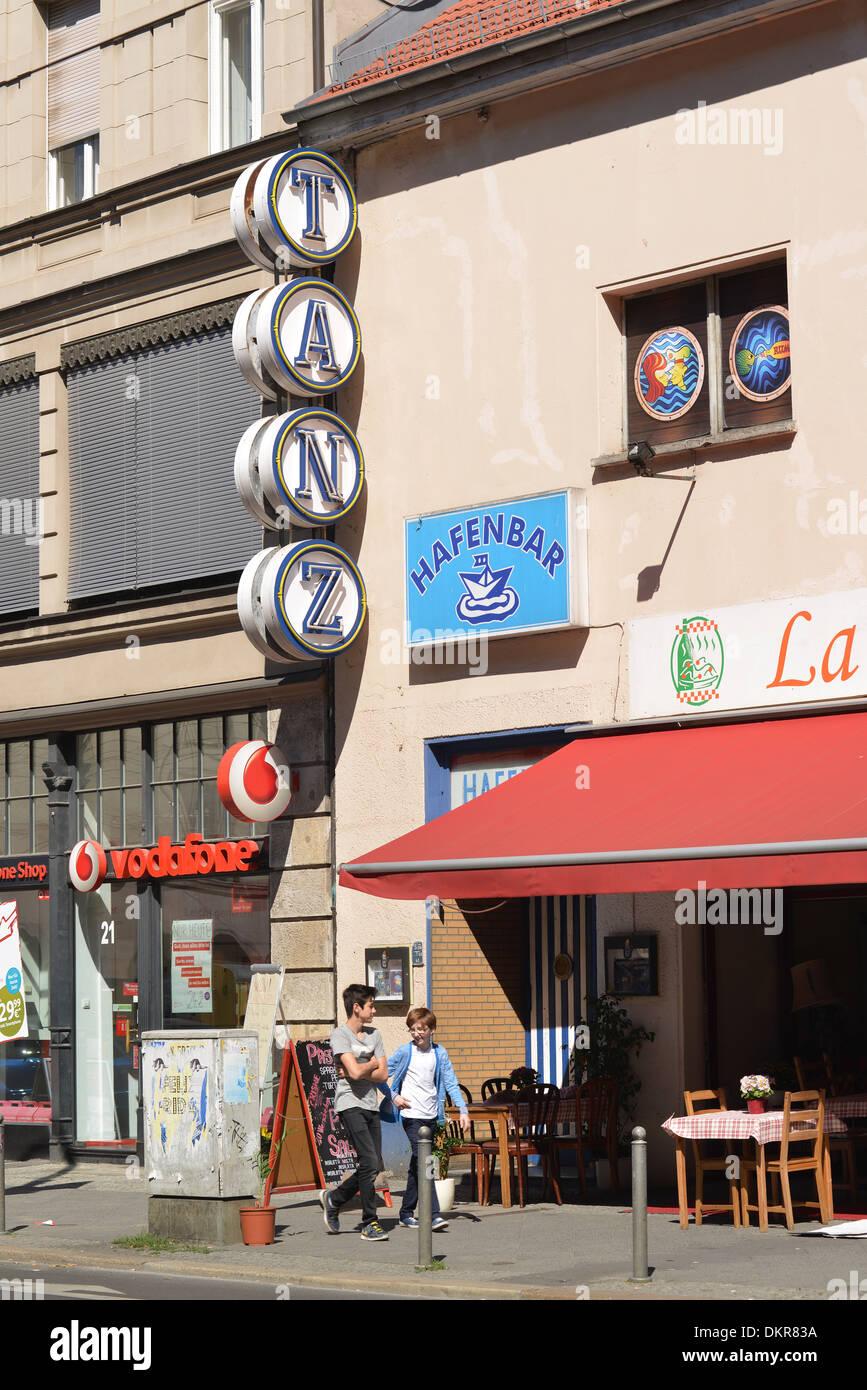Hafenbar, Chausseestrasse, Mitte, Berlin, Deutschland - Stock Image