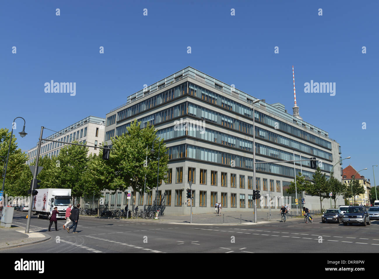 Haus der Deutschen Wirtschaft, Breite Strasse, Mitte, Berlin, Deutschland Stock Photo
