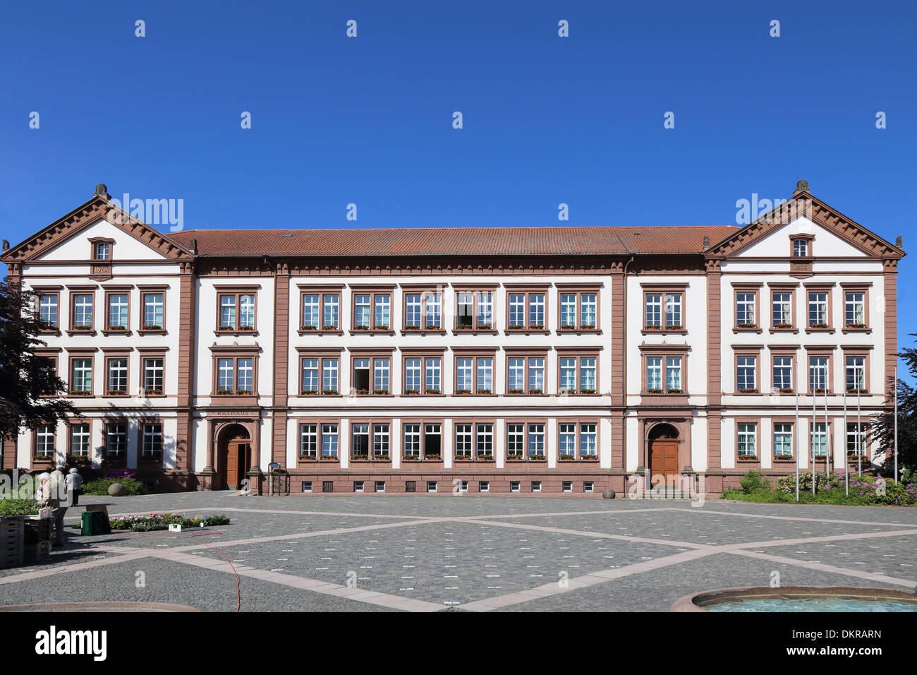 Pirmasens town hall - Stock Image