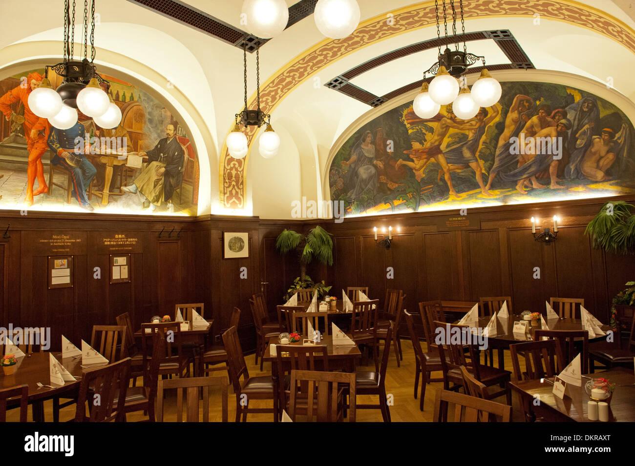 Leipzig Restaurant Auerbachs Keller Old Town History Culture Stock Photo Alamy