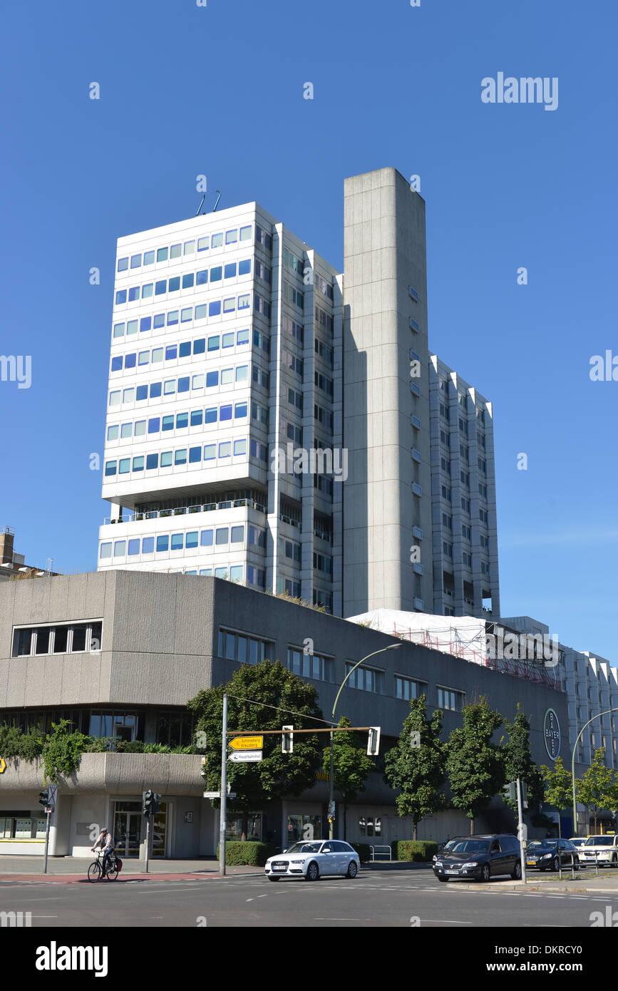 Bayer Pharma, Muellerstrasse, Wedding, Berlin, Deutschland / Müllerstraße - Stock Image