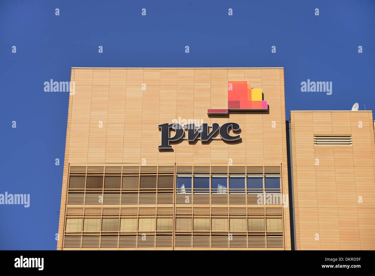 PWC, Potsdamer Platz, Tiergarten, Berlin, Deutschland - Stock Image