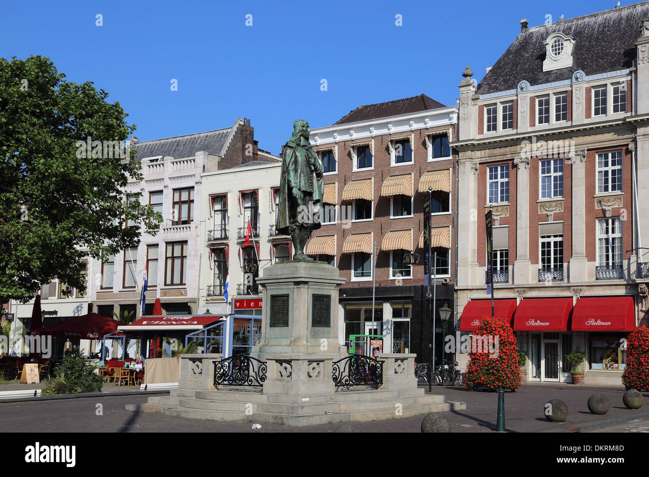 the Hague Netherlands Plaats Johan de Witt - Stock Image