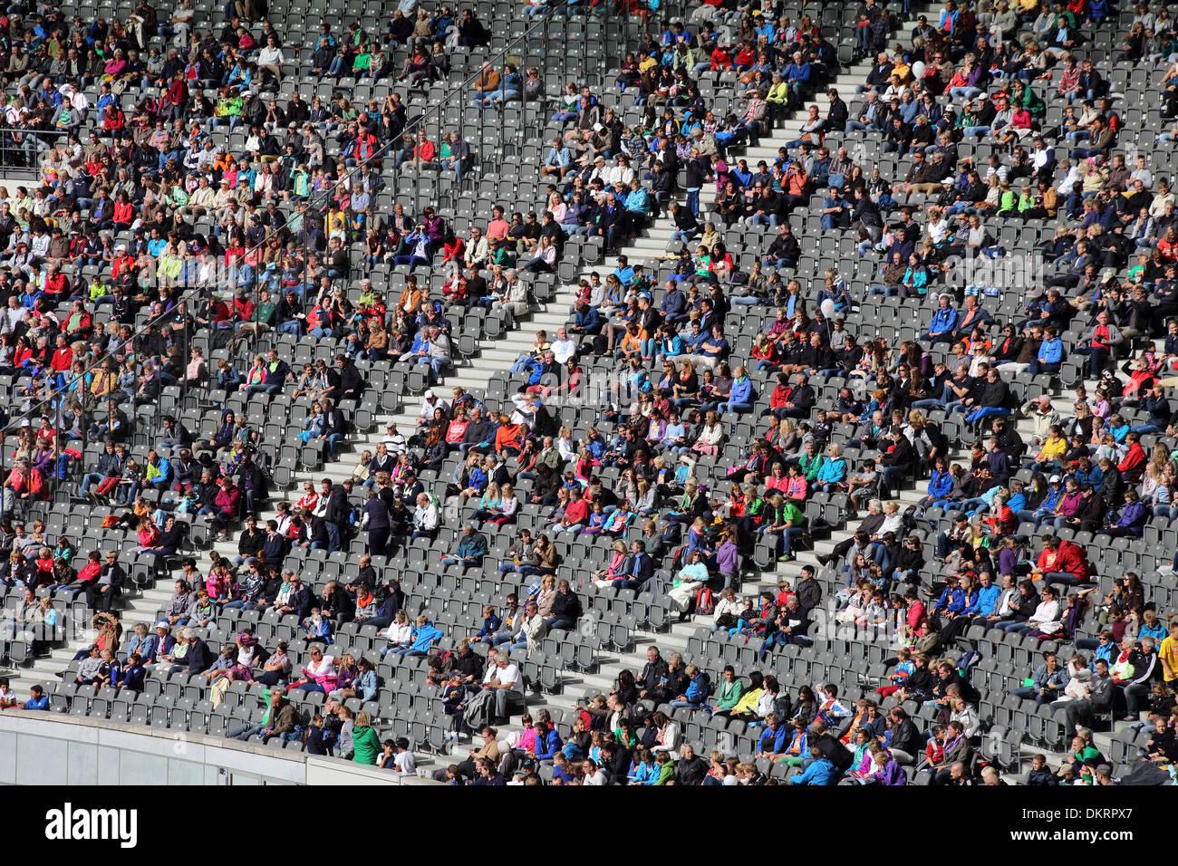Berlin Olympiastadion - Stock Image