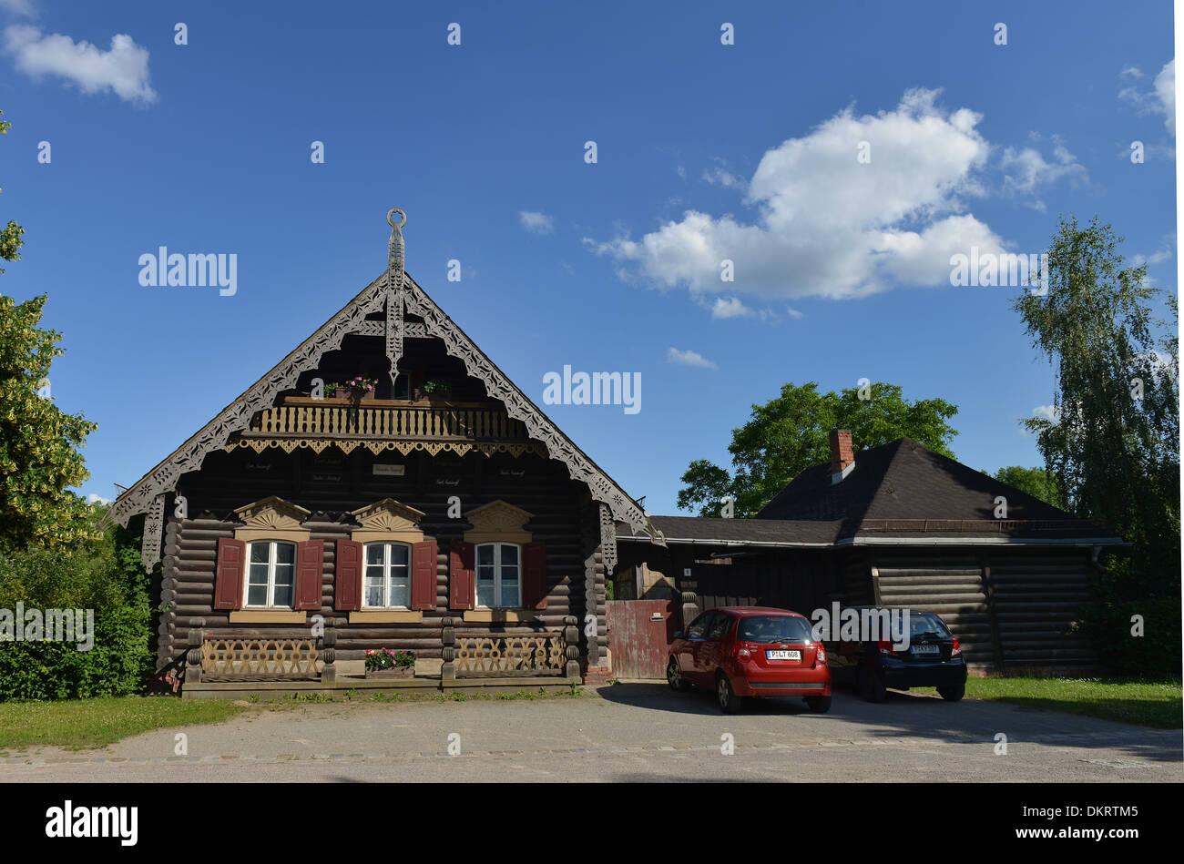 Beeindruckend Russisches Holzhaus Galerie Von , Russische Kolonie, Potsdam, Brandenburg, Deutschland
