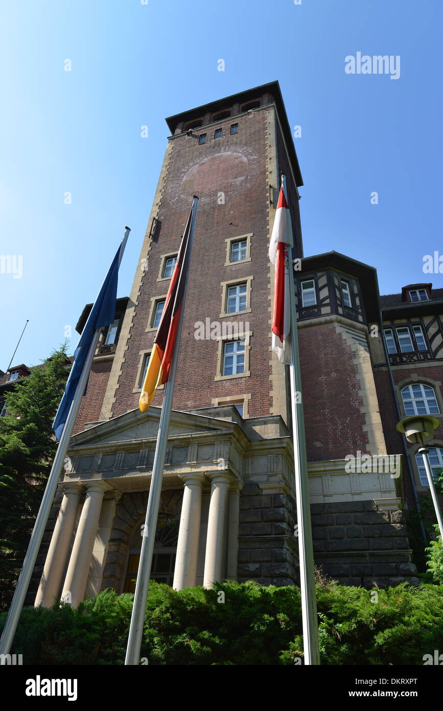 Alter Landtag, Brauhausberg, Potsdam, Brandenburg, Deutschland - Stock Image