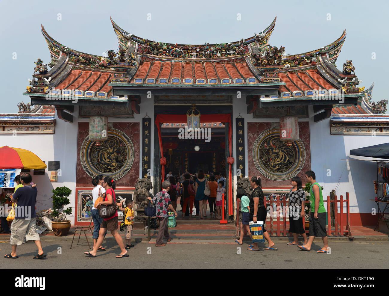 Cheng-Hoon-Teng-Tempel Melaka Malaysia Stock Photo