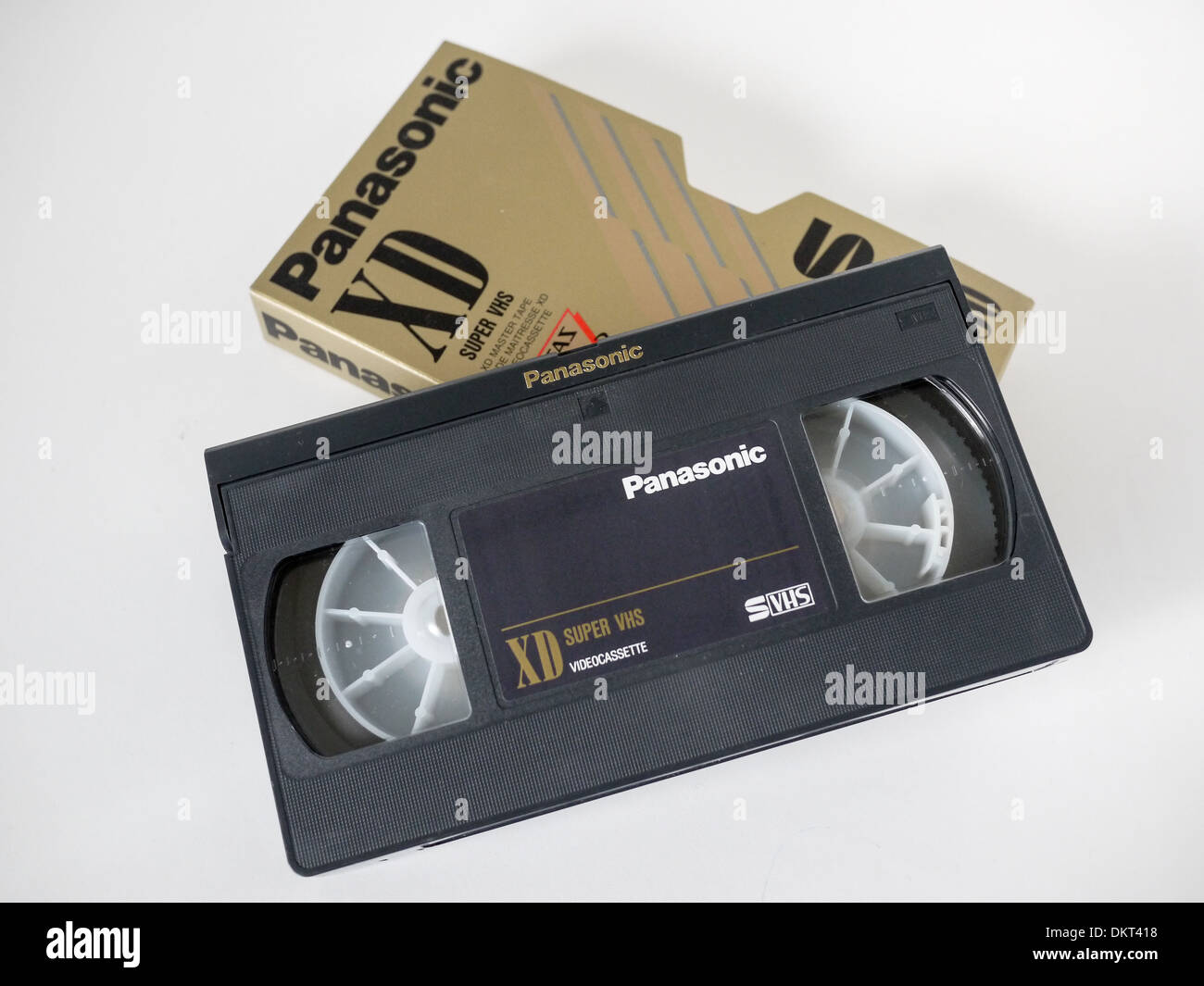 panasonic vhs tape - Stock Image