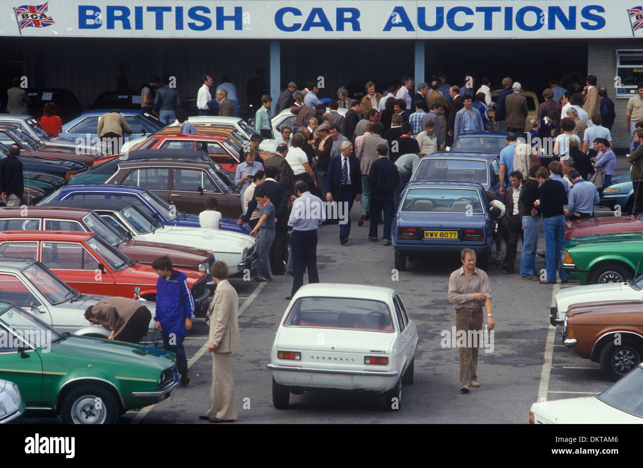 British Car Auction High Resolution Stock Photography And Images Alamy