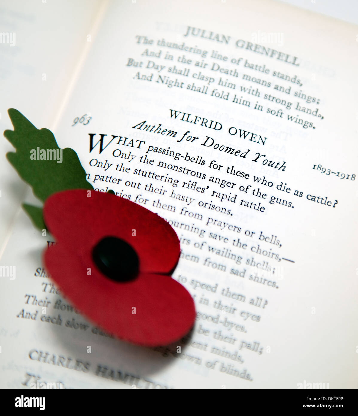 Wilfred Owen Stock Photos Wilfred Owen Stock Images Alamy