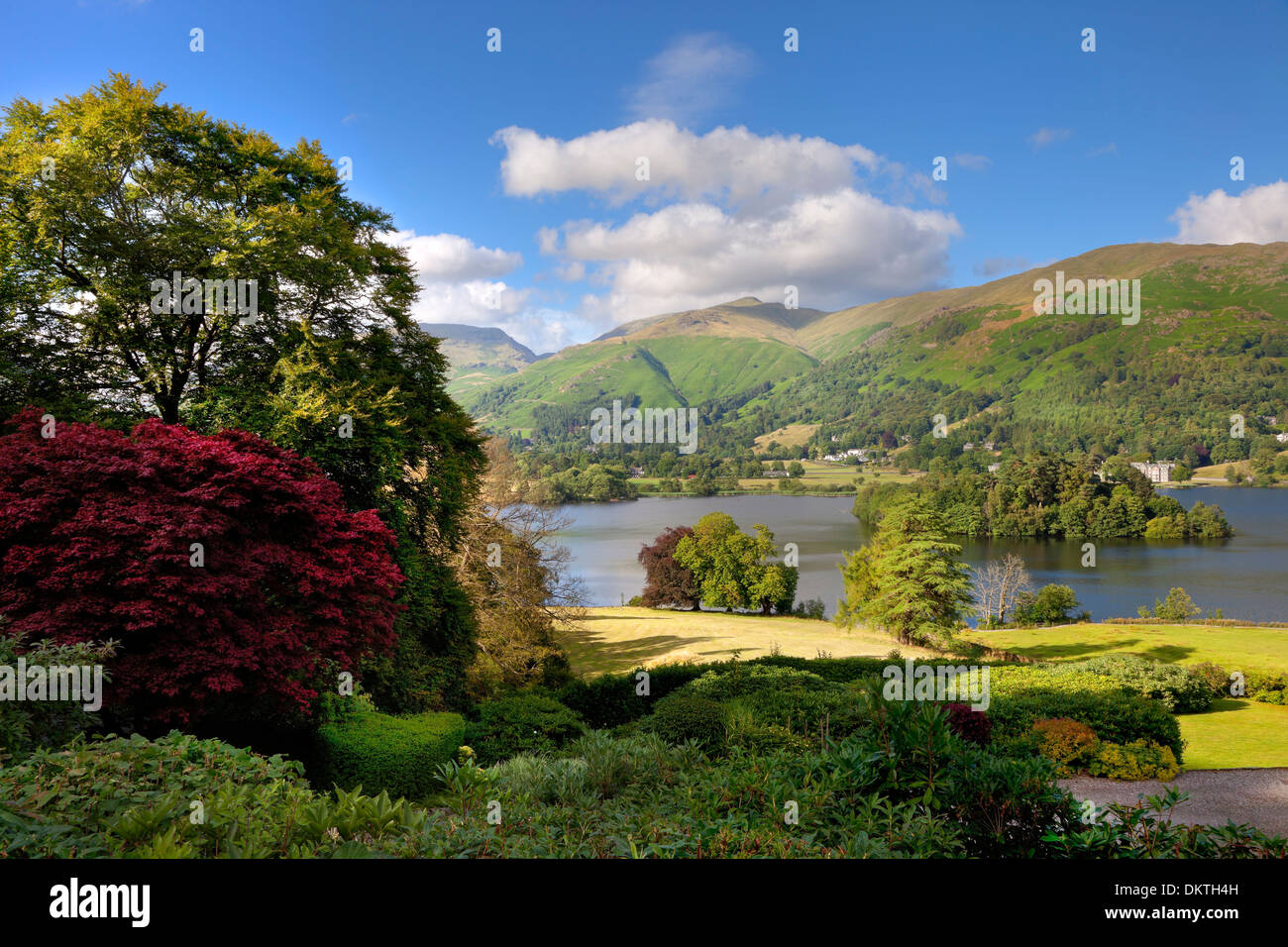 Grasmere, the Lake District, Cumbria, England. - Stock Image