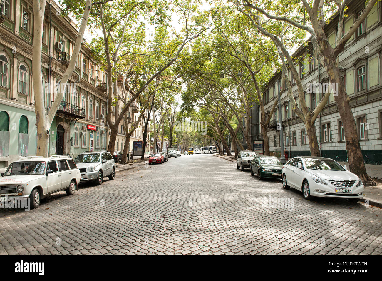 pushkinskaya street in odessa ukraine stock photo 63856373 alamy