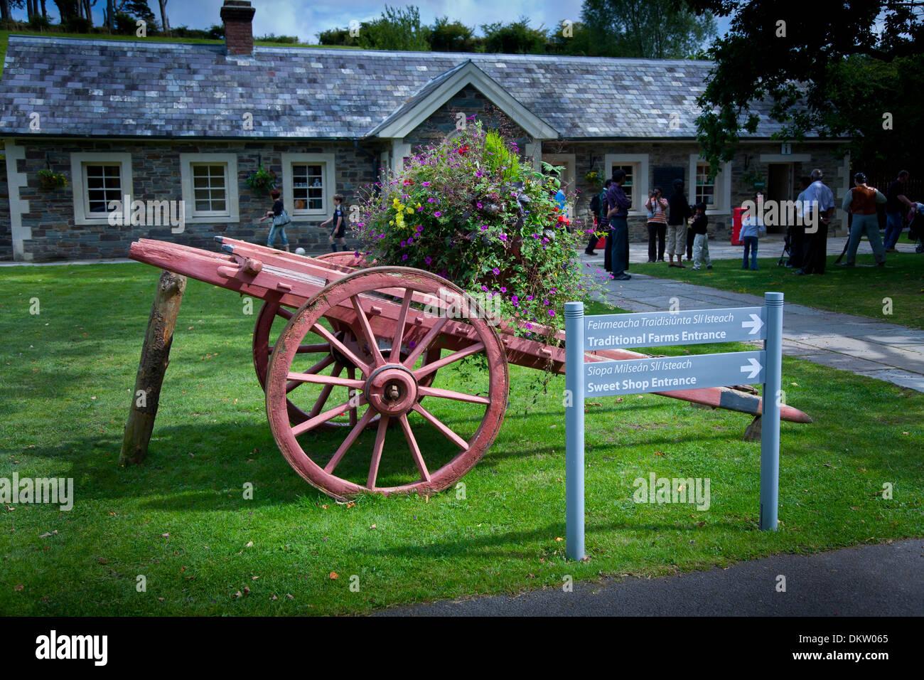 602ed92e83cff Traditional farm house. Muckross. Killarney National Park. County Kerry,  Ireland, Europe