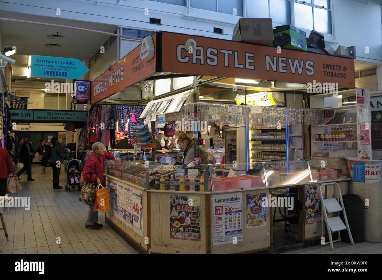 Demolished Castle Market Sheffield Indoor Market England - Stock Image