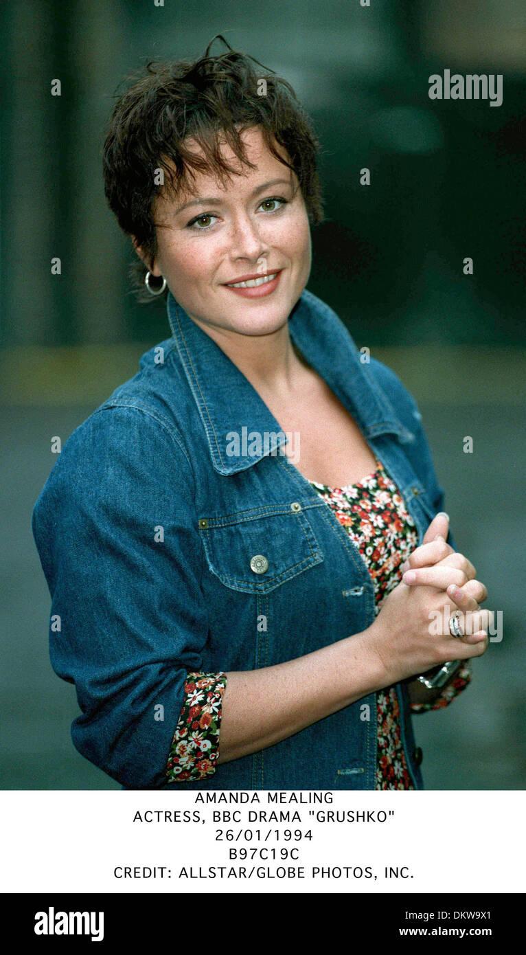 Amanda Mealing Actress amanda mealing.actress, bbc drama ''grushko''.26/01/1994