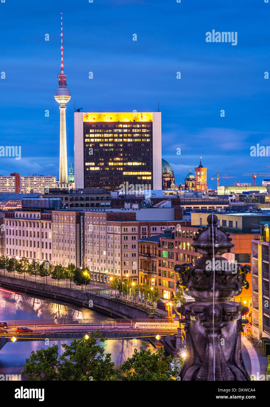 Cityscape of Berlin, Germany. - Stock Image