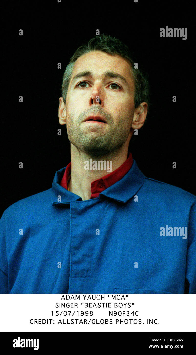 ADAM YAUCH ''MCA''.SINGER ''BEASTIE BOYS''.15/07/1998.N90F34C. - Stock Image