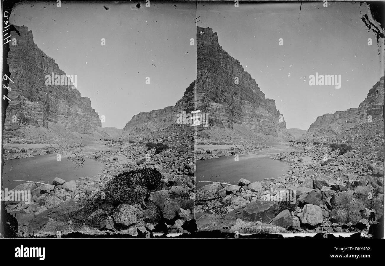 Green River. Canyon of Desolation. Old no. 347, 358, 789 517962 - Stock Image
