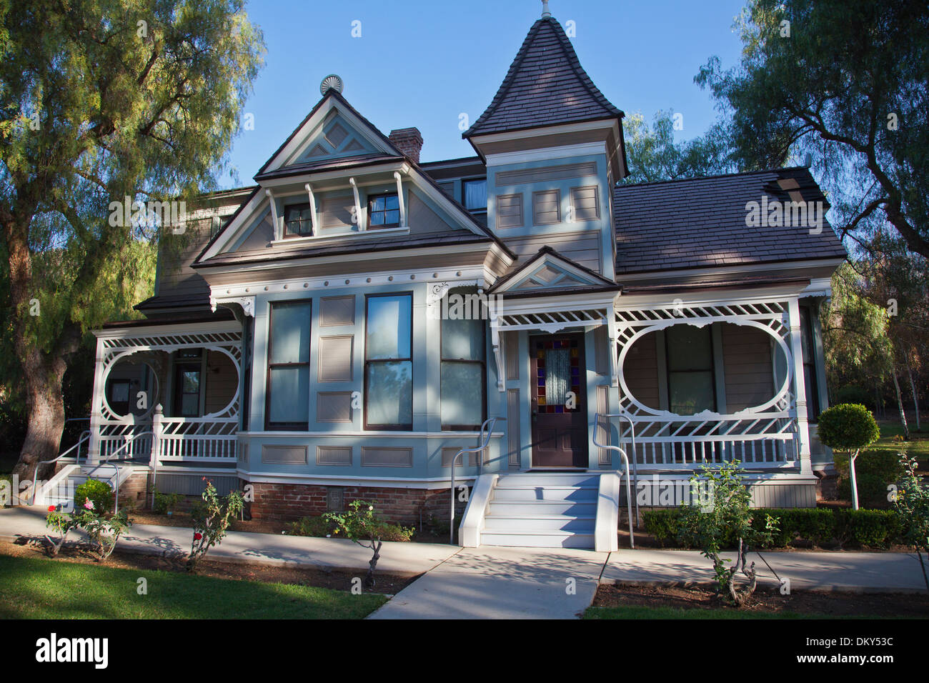 The Doctors' House Museum, Brand LIbrary Park, Glendale, California, USA - Stock Image