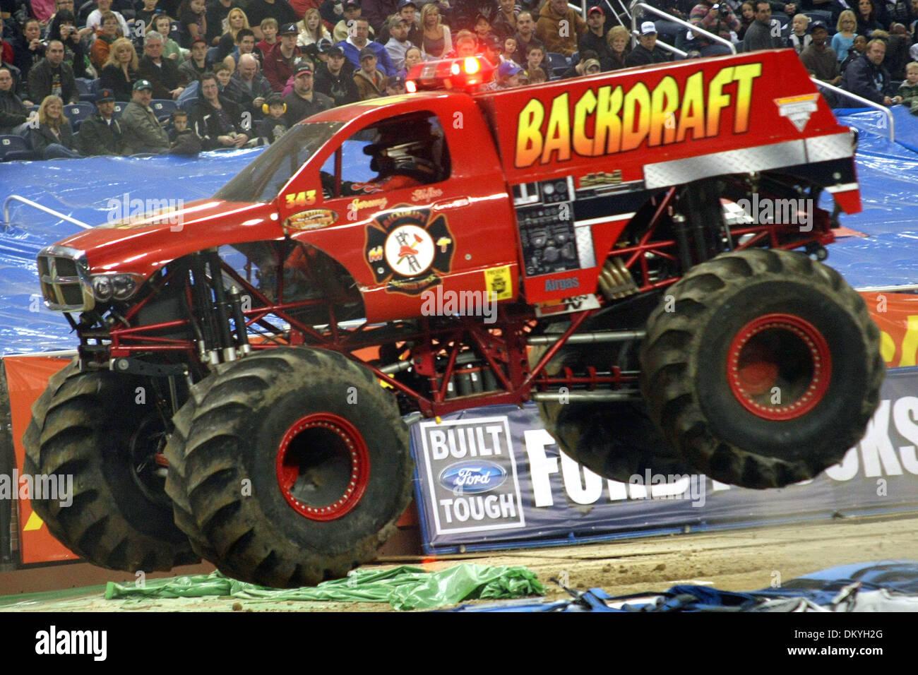 Monster Wheels Michigan Stock Photos & Monster Wheels