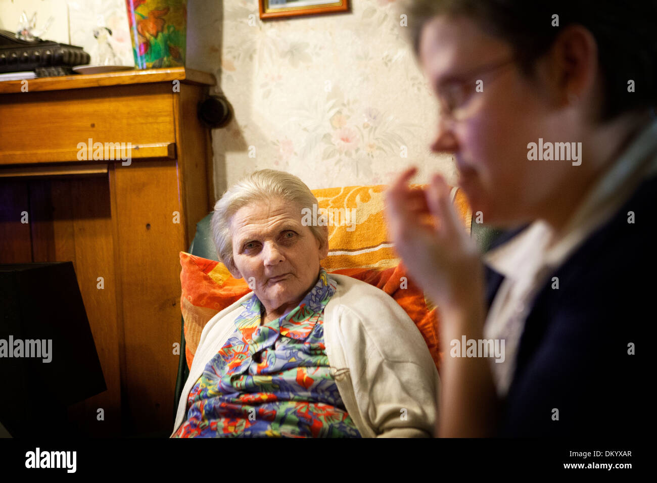 FAMILY CAREGIVER - Stock Image