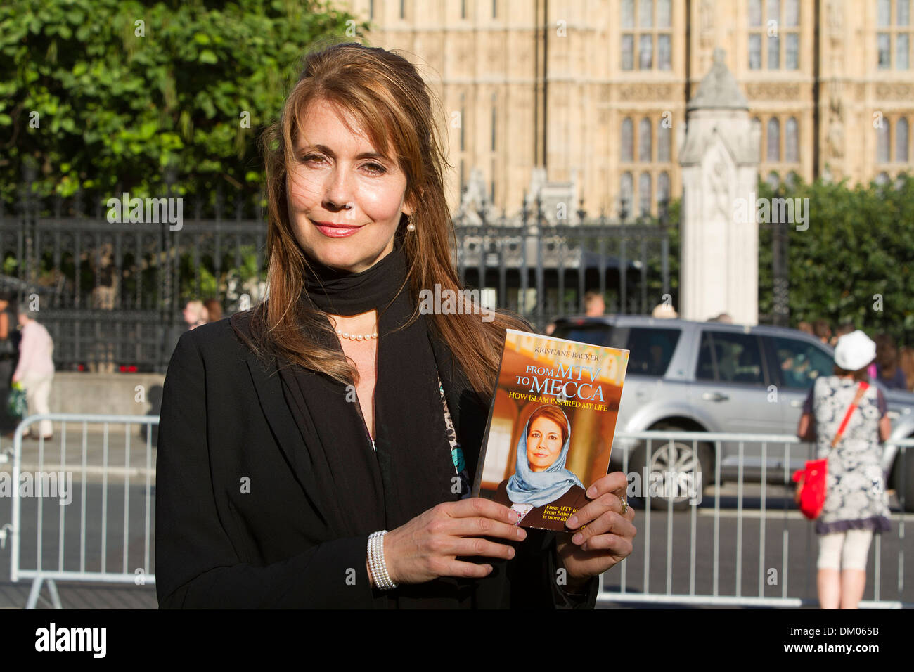 Former Mtv Presenter Kristiane Backer Attends A Photocall To Promote Stock Photo Alamy