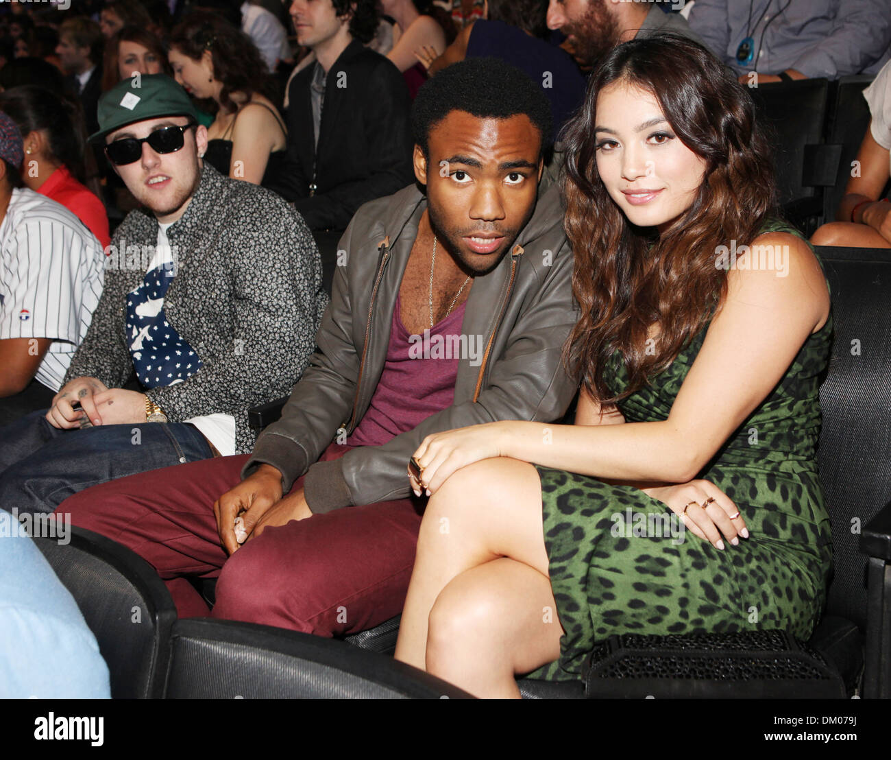 Donald Glover 2012 MTV Video Music Awards held at Staples Center - Show Los Angeles California - 06.09.12 - Stock Image